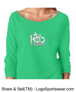 Kab Farms girls sweatshirt cbd Design Zoom