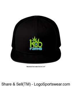 Kab Farms snap back Design Zoom