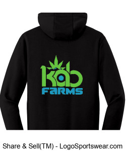 Kab Farms zipper hoodie Design Zoom